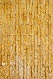 καφετής σύγχρονος εμφανισμένος πρότυπο τοίχος τούβλου Στοκ Εικόνες