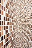 καφετής τοίχος προτύπων μ&omeg Στοκ φωτογραφία με δικαίωμα ελεύθερης χρήσης