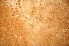 καφετής τοίχος Στοκ Εικόνες
