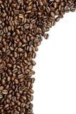 Καφετής υπόλοιπος κόσμος φασολιών καφέ Στοκ εικόνες με δικαίωμα ελεύθερης χρήσης