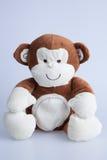 Καφετής γεμισμένος πίθηκος Στοκ Εικόνα