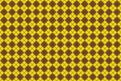 καφετί άνευ ραφής τετράγωνο προτύπων Στοκ Εικόνες