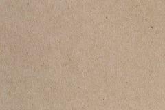 Καφετί έγγραφο, σύσταση χαρτονιού για το υπόβαθρο Στοκ Εικόνα