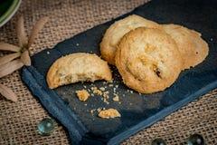 Καφετί βουτύρου μπισκότο Στοκ φωτογραφία με δικαίωμα ελεύθερης χρήσης