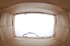 καφετί γίνοντα έγγραφο τσαντών χρησιμοποιούμενο Στοκ φωτογραφία με δικαίωμα ελεύθερης χρήσης