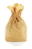 καφετί γίνοντα έγγραφο τσαντών χρησιμοποιούμενο στοκ εικόνες με δικαίωμα ελεύθερης χρήσης