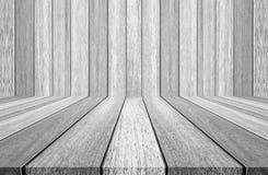 καφετί δάσος σύστασης σκιών ανασκόπησης άσπροι ξύλινοι τοίχος και πάτωμα στοκ εικόνα