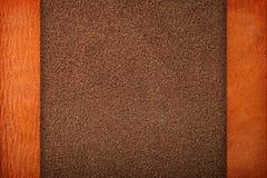 Καφετί δέρμα Στοκ φωτογραφία με δικαίωμα ελεύθερης χρήσης