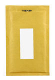 καφετί λευκό φακέλων εγ&gam Στοκ Εικόνα