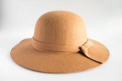 Καφετί καπέλο Στοκ εικόνα με δικαίωμα ελεύθερης χρήσης