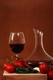 καφετί κόκκινο κρασί ανασκόπησης Στοκ φωτογραφίες με δικαίωμα ελεύθερης χρήσης