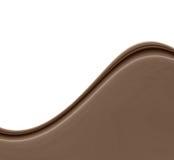 καφετί κύμα σοκολάτας Στοκ Εικόνα