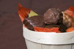 καφετί μέρος σοκολάτας &kapp Στοκ εικόνα με δικαίωμα ελεύθερης χρήσης