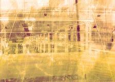 καφετί μέταλλο σχεδίου grunge Στοκ Φωτογραφίες