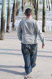 καφετί μαλλιαρό άτομο έκφρ& Στοκ Φωτογραφίες