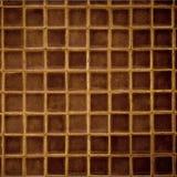 καφετί μωσαϊκό Στοκ φωτογραφία με δικαίωμα ελεύθερης χρήσης