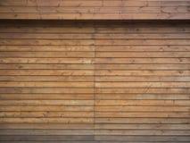 Καφετί ξύλινο υπόβαθρο σανίδων Στοκ Εικόνες