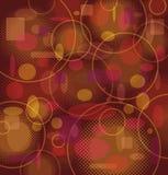καφετί πορτοκαλί πρότυπο & Στοκ εικόνα με δικαίωμα ελεύθερης χρήσης