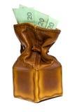 καφετί πορτοφόλι στοκ φωτογραφίες με δικαίωμα ελεύθερης χρήσης