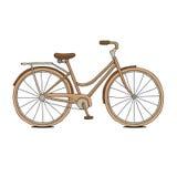 Καφετί ποδήλατο Στοκ φωτογραφίες με δικαίωμα ελεύθερης χρήσης