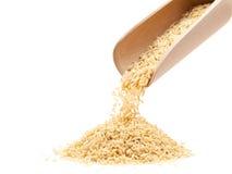 καφετί ρύζι στοκ φωτογραφία