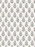 Καφετί σχέδιο δέντρων Στοκ Εικόνες