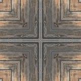 Καφετί τετραγωνικό ξύλινο άνευ ραφής υπόβαθρο γραφείων Στοκ φωτογραφία με δικαίωμα ελεύθερης χρήσης