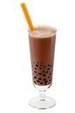 καφετί τσάι φυσαλίδων Στοκ εικόνα με δικαίωμα ελεύθερης χρήσης