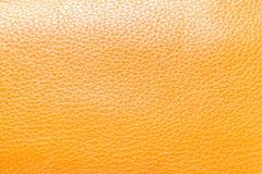 Καφετί υπόβαθρο δέρματος χρήσιμο για το διάστημα αντιγράφων Στοκ Εικόνα
