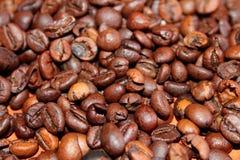 καφετί υπόβαθρο καφέ Στοκ Εικόνες