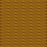 Καφετί υπόβαθρο, σχέδιο του κίτρινου πλήρους πλαισίου γραμμών ελεύθερη απεικόνιση δικαιώματος