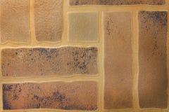 Καφετί υπόβαθρο σύστασης κεραμιδιών πατωμάτων στοκ εικόνες