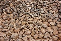 Καφετί υπόβαθρο των φυσικών πετρών Στοκ φωτογραφίες με δικαίωμα ελεύθερης χρήσης