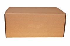 καφετί χαρτοκιβώτιο κιβ&om στοκ φωτογραφία με δικαίωμα ελεύθερης χρήσης