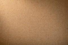 Καφετί χαρτόνι Στοκ Εικόνες