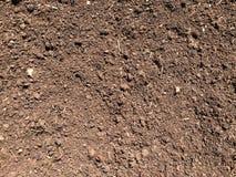 Καφετί χρώμα υποβάθρου σύστασης εδαφολογικού εδάφους στοκ φωτογραφίες