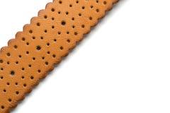 καφετί ψαλίδισμα απομονωμένο λευκό μονοπατιών δέρματος ζωνών ανασκόπησης Στοκ εικόνα με δικαίωμα ελεύθερης χρήσης