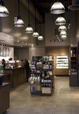 Καφετερία της Starbucks Στοκ Φωτογραφίες