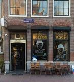 Καφετερία του Άμστερνταμ Στοκ φωτογραφία με δικαίωμα ελεύθερης χρήσης
