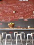Καφετερία Στοκ εικόνα με δικαίωμα ελεύθερης χρήσης