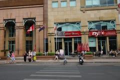 Καφετερίες σε Saigon στοκ εικόνα με δικαίωμα ελεύθερης χρήσης