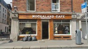 Καφετερίες του Δουβλίνου στοκ φωτογραφίες