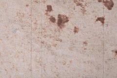 Καφετιά αφηρημένα σημεία σε κατασκευασμένο ινώδες χαρτί ή το χαρτόνι _ Στοκ εικόνα με δικαίωμα ελεύθερης χρήσης
