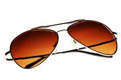 καφετιά γυαλιά ηλίου Στοκ εικόνες με δικαίωμα ελεύθερης χρήσης