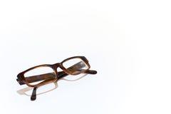 καφετιά γυαλιά Στοκ φωτογραφίες με δικαίωμα ελεύθερης χρήσης