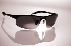 Καφετιά γυαλιά ηλίου Στοκ Εικόνα