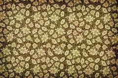 Καφετιά εκλεκτής ποιότητας floral ταπετσαρία Στοκ Εικόνες