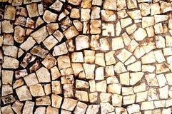 Καφετιά επίστρωση πετρών Στοκ Εικόνες