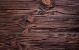 Καφετιά λεπτομέρεια σχεδίων φύσης χρώματος υποβάθρου του ξύλου πεύκων Στοκ Φωτογραφίες