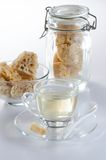 Καφετιά ζάχαρη βράχου Στοκ εικόνα με δικαίωμα ελεύθερης χρήσης